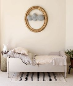 the boo and the boy: eclectic kids rooms    i've seen this pin around-but really so simple and lovely.