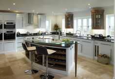Painted kitchen - Bourne