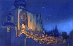 nicholas roerich paintings | Nicholas+roerich+paintings