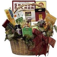 Heart Healthy Gourmet Food Basket