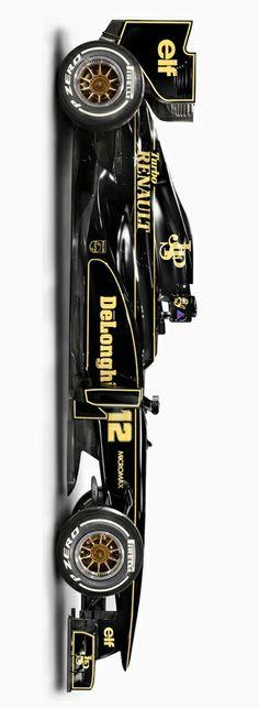 Retro Lotus F1