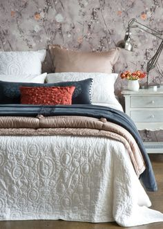Queensland Homes Blog » Winter Warmers | Snuggle up under oodles of luscious blankets, throws and cushions.