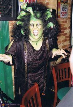 medusa costume - Black Dynamite Halloween Costume