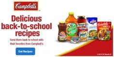 Recetas rápidas para el año escolar #CampbellSavings #ad