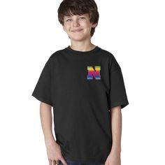 Nebraska Rainbow N Youth Boys Tee Shirt