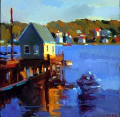 More gorgeous Maine paintings by Connie Hayes