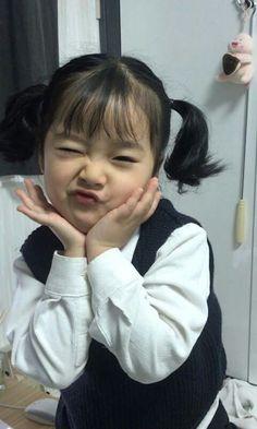 Most Popular Kwon Yuli Baby Ulzzang Icons 63 Ideas Cute Baby Meme, Baby Memes, Cute Baby Boy, Cute Little Baby, My Baby Girl, Cute Kids, Cute Asian Babies, Korean Babies, Asian Kids