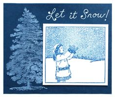 As the weather turns cooler our thoughts turn to the first snowfall, snow sports like skiing, sledding and skating, and of course lots of snow for the holidays! Let It Snow, Let It Be, Blessings, Stamps, Blessed, Fine Art, Holiday, Projects, Fun