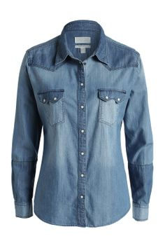 #Esprit #denim #blouse for HER