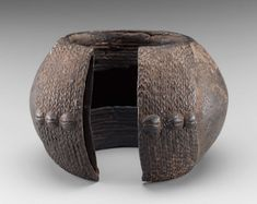 Africa   Dan people, Ivory Coast   Anklet   20th century   Copper Alloy