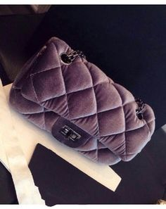Quilted Chic Sling Bag greyDB5