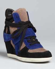Ash Wedge High Top Sneakers - Bowie