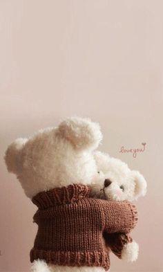 Ideas Baby Cute Photography Teddy Bears For 2019 Teddy Bear Nursery, Baby Teddy Bear, Knitted Teddy Bear, Large Teddy Bear, Teddy Bear Toys, Crochet Teddy, Cute Teddy Bears, Crochet Bear, Polar Bear