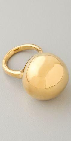 Alexis Bittar Liquid Gold Sphere Ring