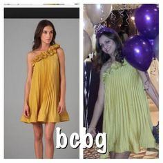 Bcbg Max dress Worn once . 100% polyester BCBGMaxAzria Dresses