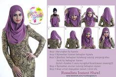 Instant shawl / hijab