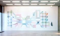 The Geometric Installations of Adrian Esparza