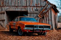 The General Lee.  Wouldn't you love to have one of these cars?  I know I would!