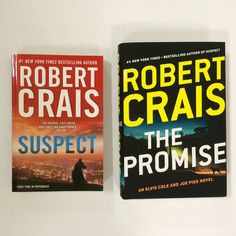Just two more days until THE PROMISE by Robert Crais hits the shelves! In his last novel, SUSPECT, LAPD cop Scott James is not doing so well. Eight months ago, a shocking nighttime assault by unidentified men killed his partner Stephanie