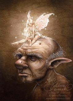 Seline Fenech, gnome et fée
