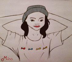 Arte by Miss | Auto Retrato em Gif