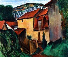 Landscape / Andre Derain - 1912