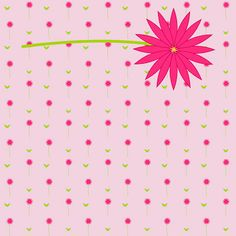 free digital pink scrapbooking paper and flower embellishment – Clipart Blume und Papier – freebie