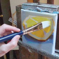 Kaern O'Neil How to Use Large Brushstrokes to Build Composition | Artist's Network