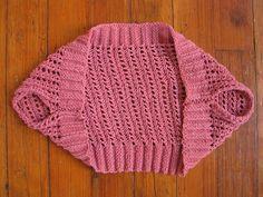 ballerina bolero! easy knit, interesting construction! [april 2010]