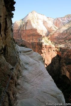 Hidden Canyon - Zions Canyon! Looks beautiful but challenging.