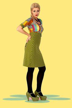 #TheWorldIsMyBubble Buy your new dress on newdress.dk   Margot dress: Russey Realsmile Summer 2016 #newdress_dk #retrodress #vintagedress