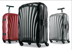 The lightest baggage cases and sets on earth. Ratings of the most useful brand names of ultra light-weight luggage cases and totes from actual users. http://airlinepedia.net/lightest-luggage.html Samsonite Cosmolite