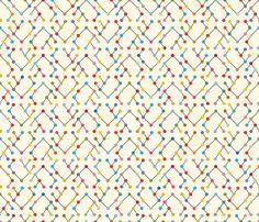 chevron-binary graphism fabric by cassiopee on Spoonflower - custom fabric