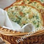 Zapečeni hleb sa belim lukom - neverovatno lepog ukusa. Obavezno probajte.