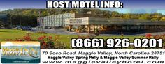 Maggie Valley Spring Rally Mopars & Hawgs May 27 – 29, 2016 Mopars & Hawgs in the Great Smoky Mountains. Swap-Meet – Mopar, Jeep Car / Truck Show – M/C Shows – Entertainment & More Come join us in the beautiful Blue Ridge Mountains of North Carolina for our annual Maggie Valley Spring Rally. May …
