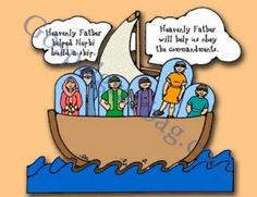 COMMANDMENTS: Primary 3 CTR-B, Lesson 18, Primary 3 manual, Heavenly Father Helps Us Obey His Commandments, Primary Lesson Helps, Sunday Sav...