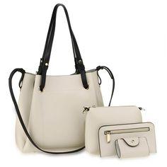 Wristlet Wallet, Pouch, Leather Handbags, Dust Bag, Satchel, Shoulder Bag, Beige, Tote Bag, Zip