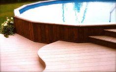 pictures of decks around pools | deck around pool