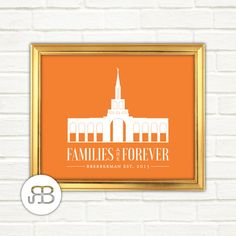 LDS Toronto Ontario Canada Temple Personalized Printable Art PDF / JPEF File by RoseBlossomPrints on Etsy