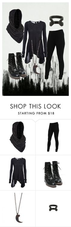 """16"" by ghostmoth ❤ liked on Polyvore featuring Miss Selfridge, Miraclebody Jeans by Miraclesuit, DRKSHDW, Parts of Four and AllSaints"