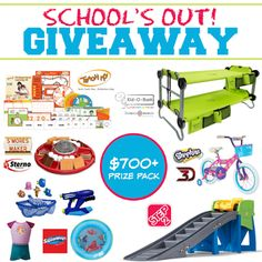 Love, Mrs. Mommy: School's Out Giveaway!