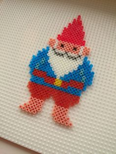 Gnome hama beads by Mrs Bead