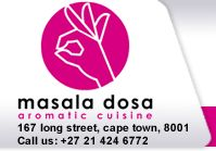 Masala Dosa is a traditional unique Indian restaurant based in Cape Town