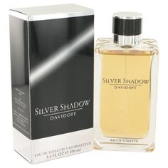 Silver Shadow By Davidoff Eau De Toilette Spray 3.4 Oz