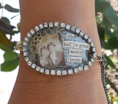 spoon bracelet - sign up at site for class to do this. Could do with real photo.