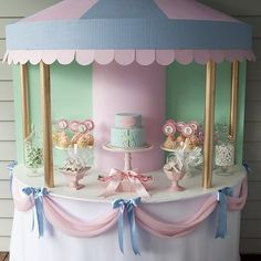 Cute baby shower ideas for party food ideas, baby shower party themes, DIY decorating, baby shower games and a lot of pictured instructions. Tea Party Birthday, Baby Party, Girl Birthday, Birthday Table, Birthday Ideas, Cake Birthday, Prom Party, Birthday Celebration, Baby Shower