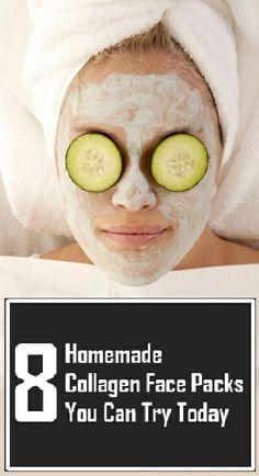 8 Homemade Collagen Face Packs