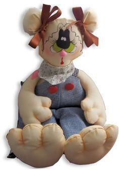 Pupazzi juguetes y accesorios decorativos en tela para grandes y chicos en Vidrierahype!
