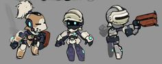 Spiral Knights: Pre-Alpha Designs by Malakym on DeviantArt