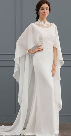 Victorian High Neck Style Wedding Dresses Ideas Nowdays the wedding dress modesty trend has moved to covering up the neck and upper chest!It is no secret that we love wedding dresses that are timeless yet unique. Victorian High neck dresses are… Wedding Dress Styles, Dream Wedding Dresses, Designer Wedding Dresses, Bridal Dresses, Wedding Gowns, High Neck Wedding Dresses, Muslim Wedding Dresses, Designer Gowns, Elegant Dresses